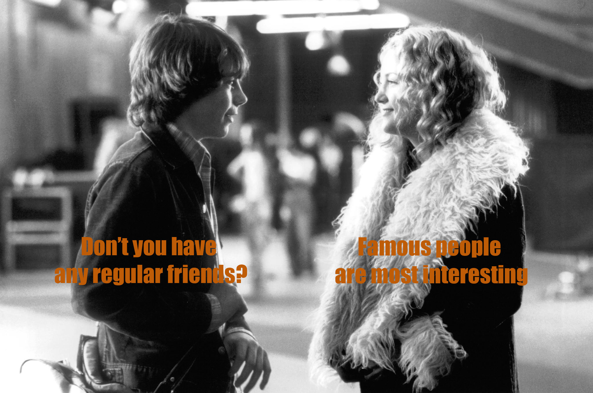 Una de las interesantes conversaciones entre William Miller y Penny Lane en 'Almost Famous'.