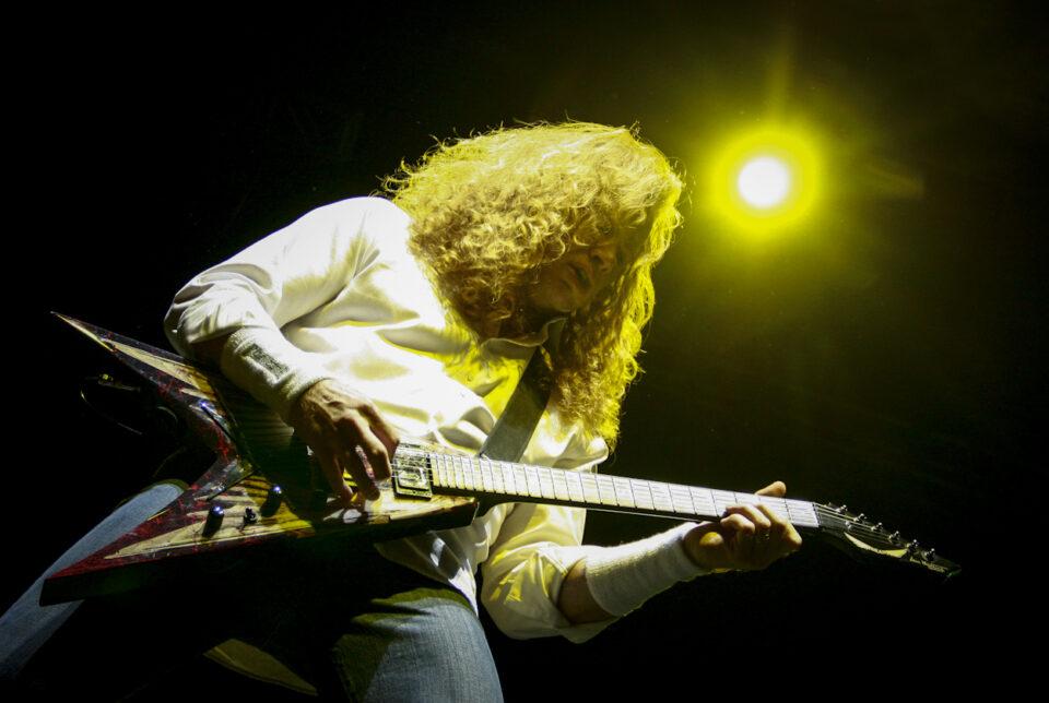 Octubre 19 de 2013. Bogotá. Miles de colombianos vibraron con el espectacular concierto de Megadeth que se realizó en el parque metropolitano Simón Bolívar. (Colprensa - Mauricio Alvarado)