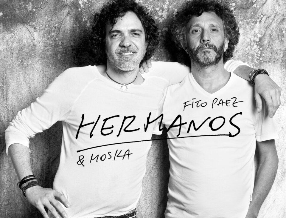 Fito Páez y Paulinho Moska preparan un disco en conjunto. Foto: Oficial