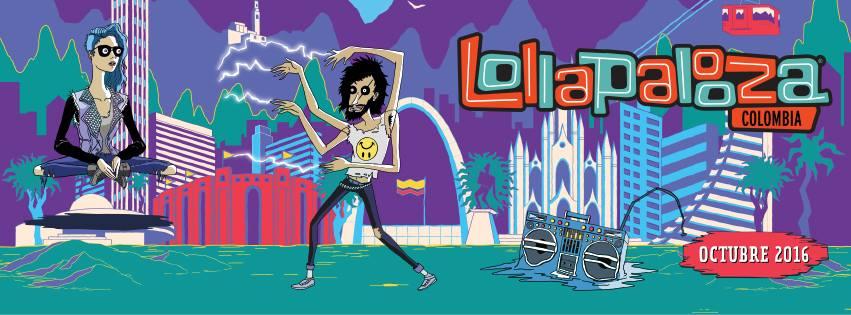 Lollapalooza tendrá su primera edición en Colombia en octubre de 2016. Foto: Oficial