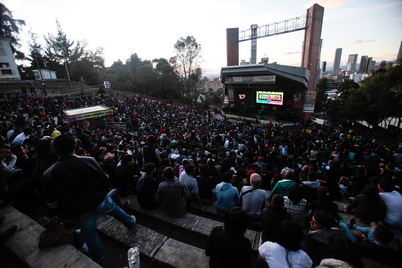 Buena presencia de público de comienzo a fin en el Concierto Radiónica 2015. Foto: Jhon Paz