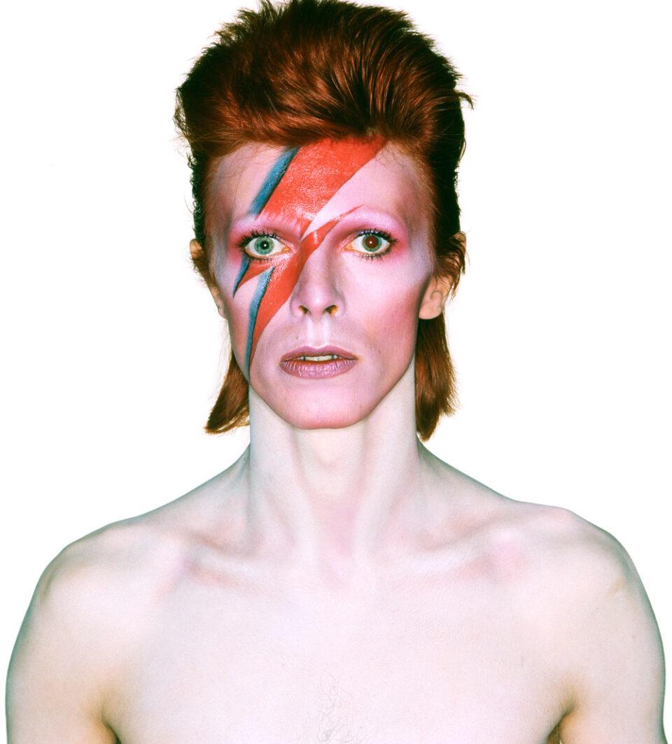 Ziggy Stardust era el álter ego andrógino de Bowie en forma de personaje de ficción.