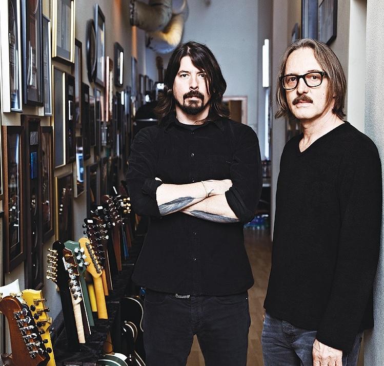 Dave y Butch Vig.