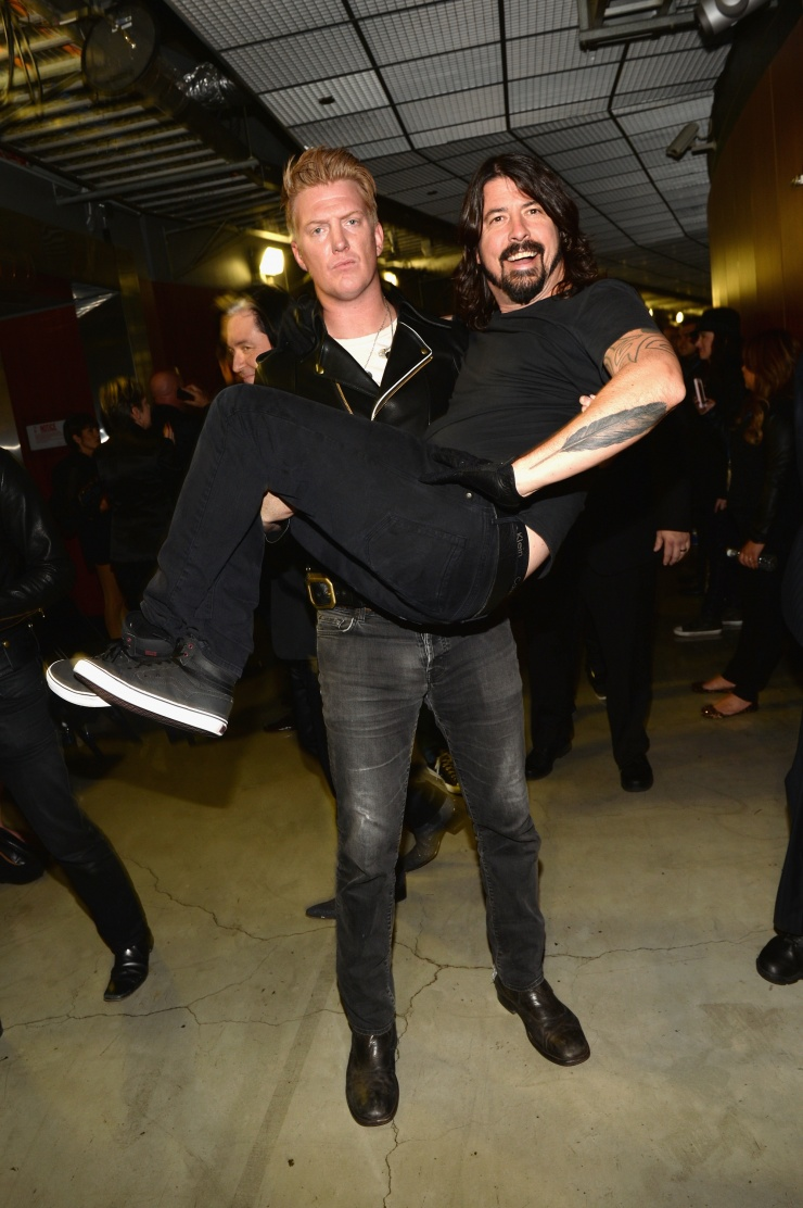 Dave Grohl y Josh Homme.