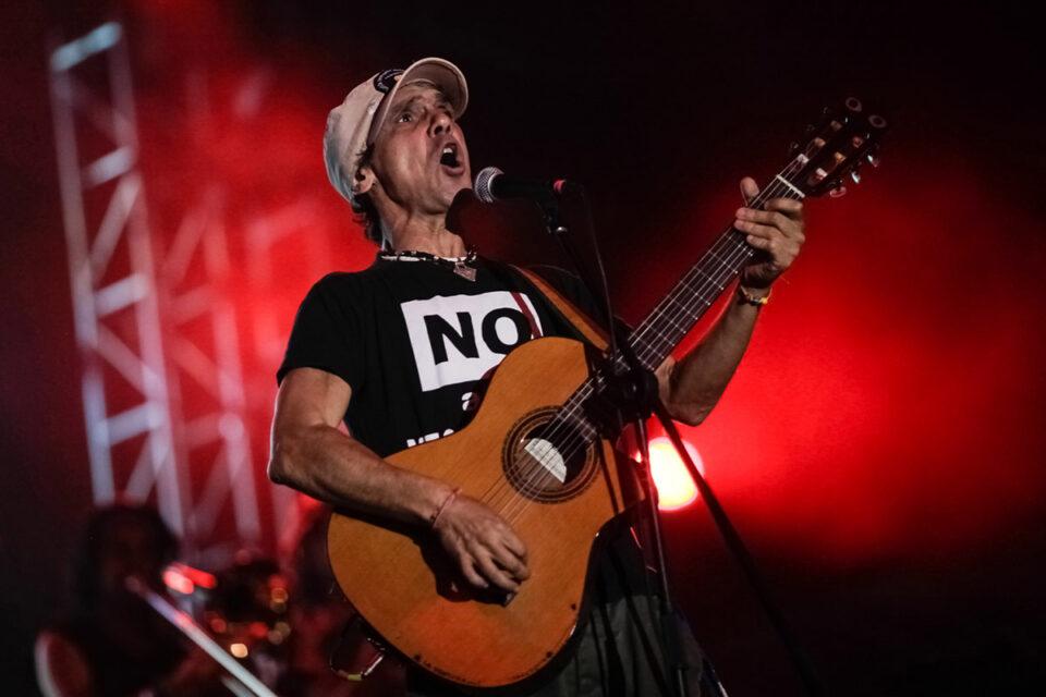 Manu es conocido por su lucha por la libertad y por sus ideales políticos. Foto por: Jhon Paz.