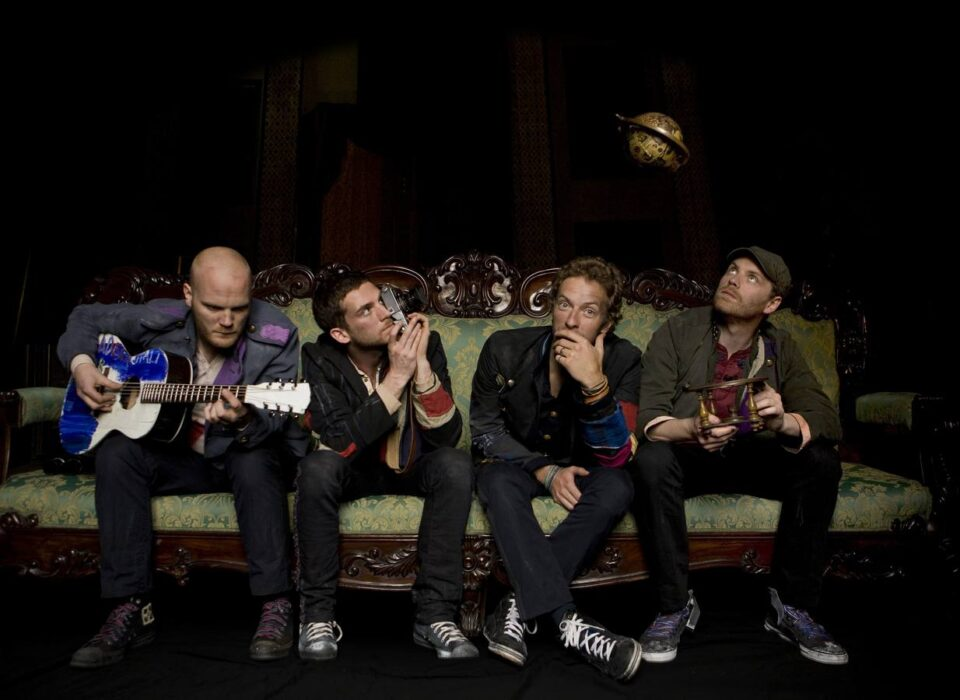 Coldplay son: Will Champion, Guy Berryman, Chris Martin y Jonny Buckland.