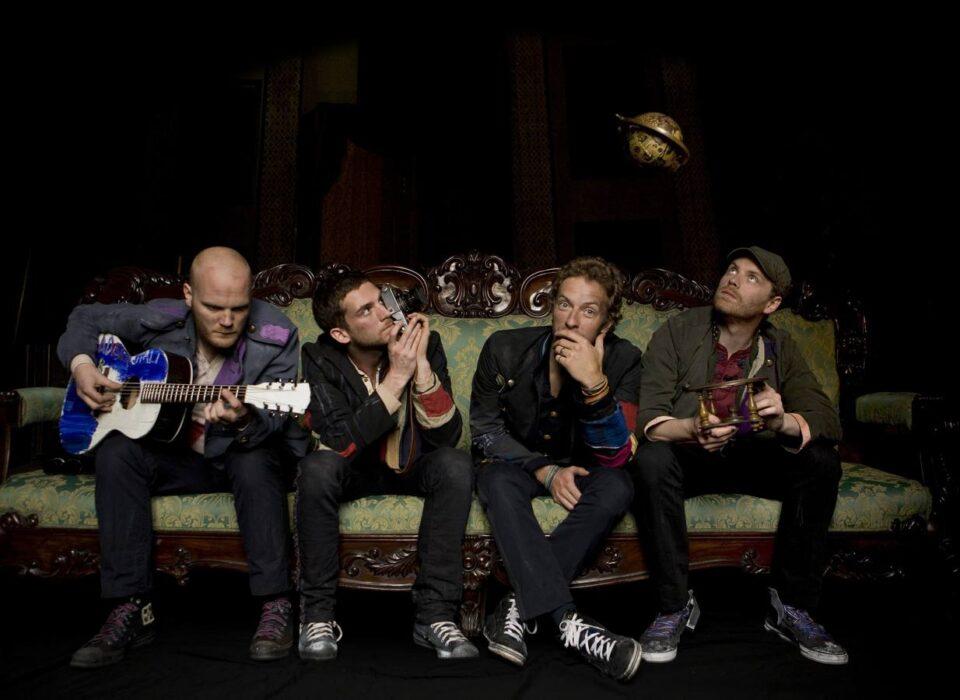 Coldplay son: Will Champion, Guy Berryman, Chris Martin y Jonny Buckland.