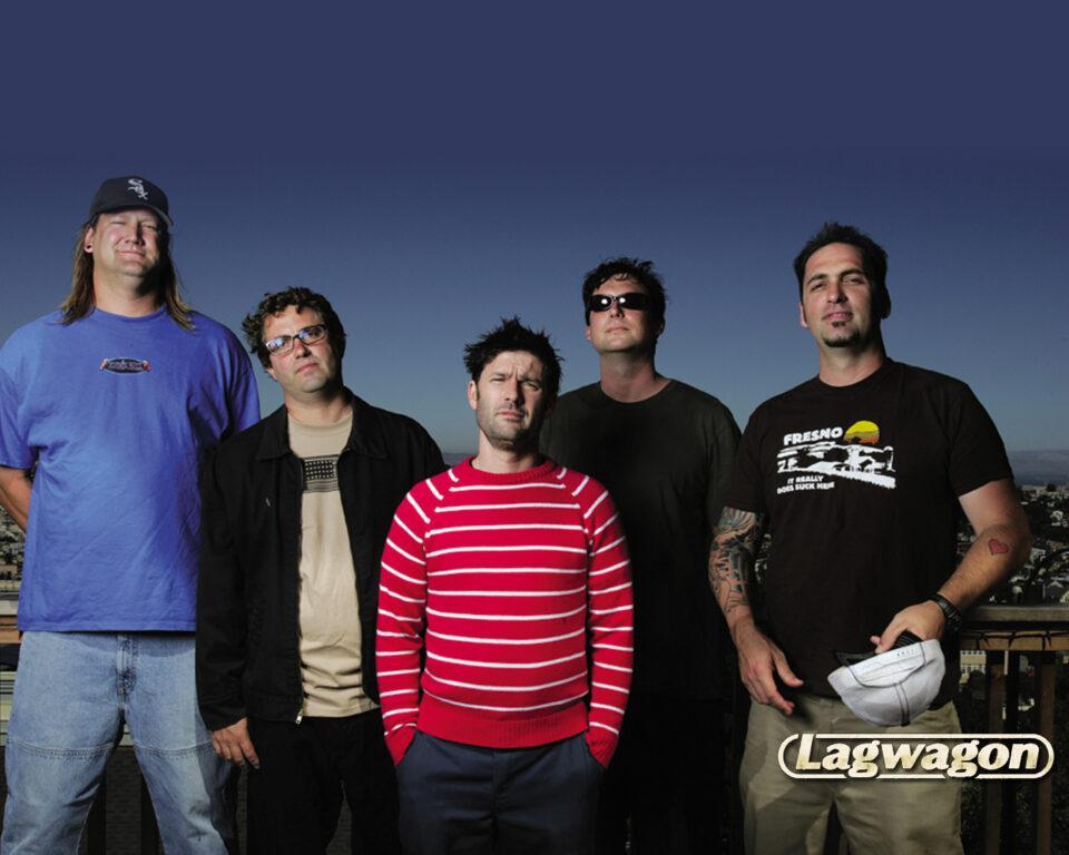 Lagwagon se fundó en 1990 en Goleta, Santa Bárbara, California. Los Miembros actuales del grupo son: Joey Cape (voz), Chris Flippin (guitarra), Chris Rest (guitarra),Joe Raposo (bajo) y Dave Raun (Batería).