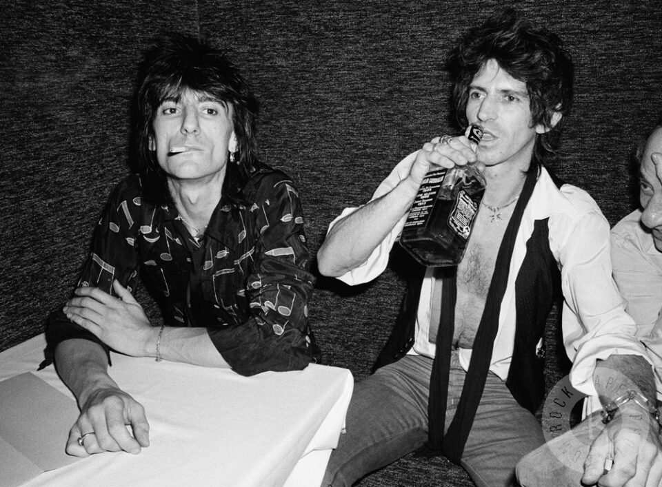 Ronnie Wood y Keith Richards.