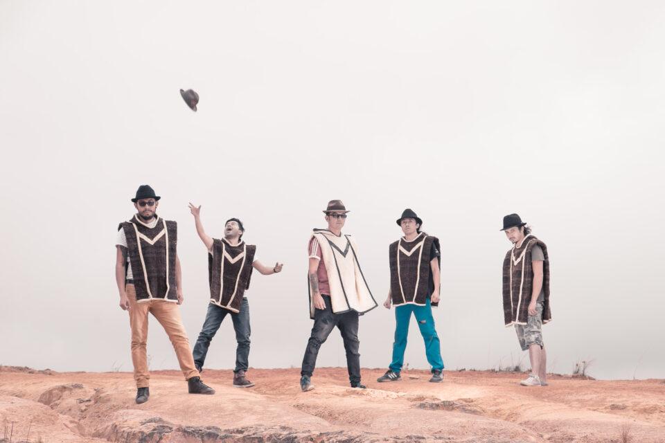 Velo de Oza, desde Tunja (Boyacá), los pioneros de la carranga rock.