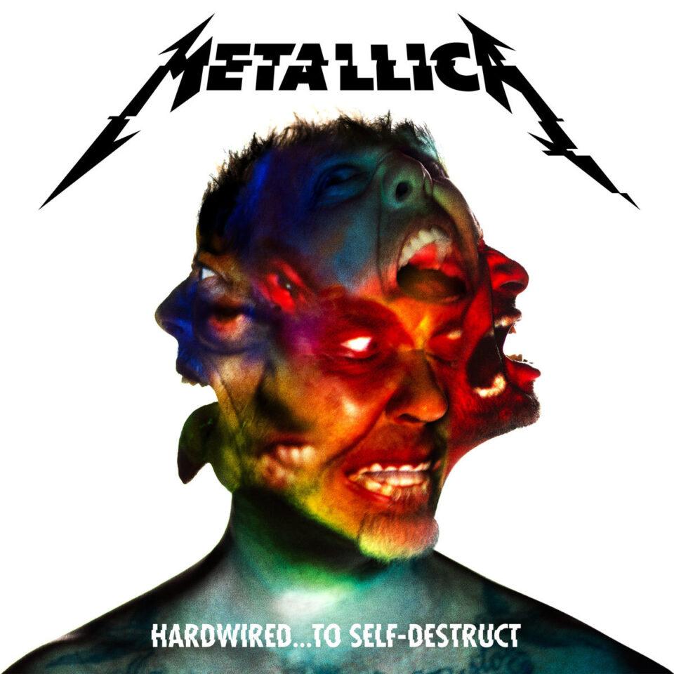 Portada del disco 'Hardwired… To Self-Destruct'.
