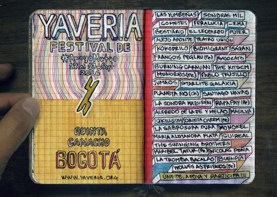 Estas son las bandas que hacen parte de la programación de Yavería 2016. Foto: Oficial
