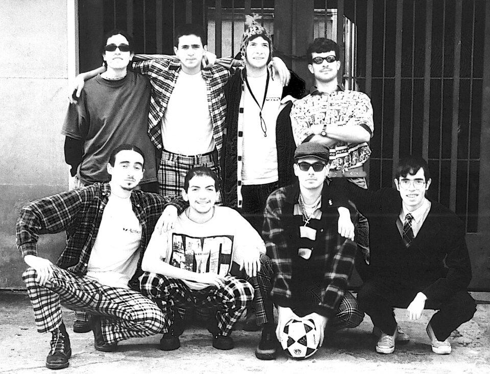 Los Elefantes en 1996. Foto oficial.