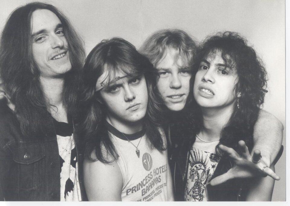 Metallica en 1981.
