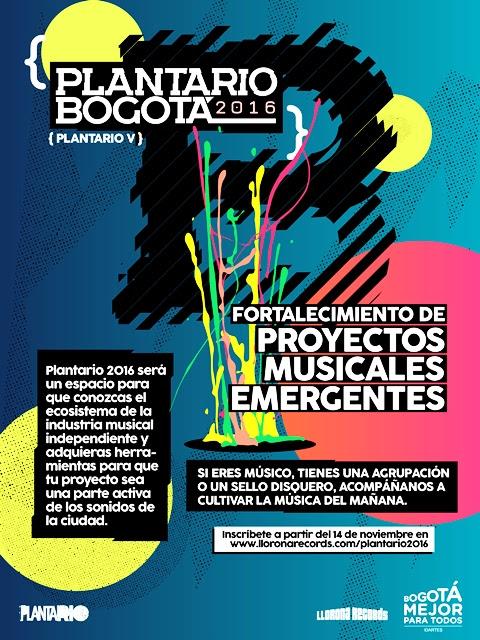 Plantario, un proyecto que busca profesionalizar a los músicos y productores colombianos. Foto: Oficial