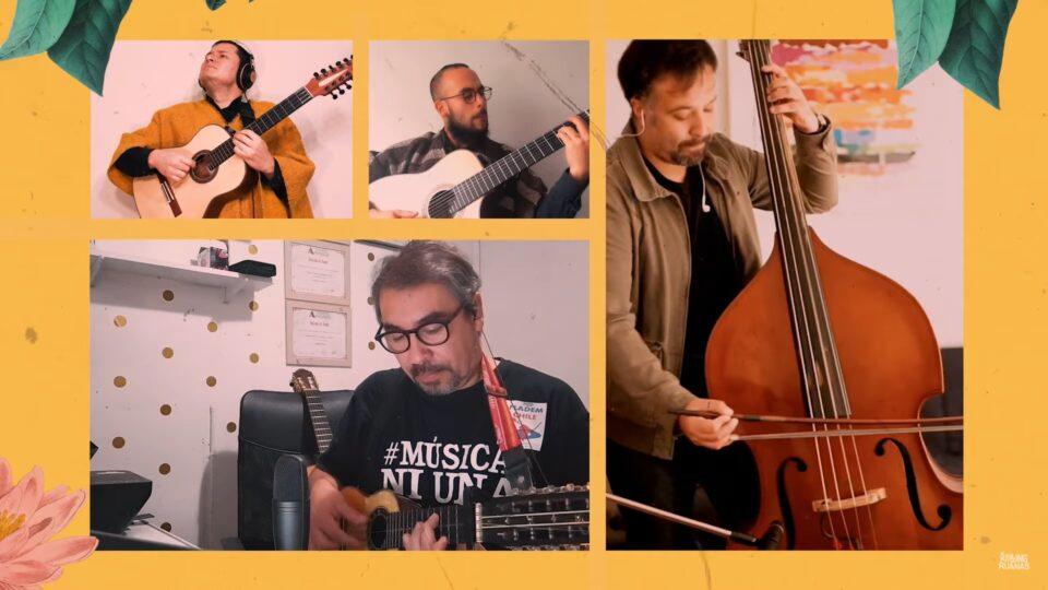 Los Rolling Ruanas e Inti Illimani presentan versión casera de 'La Edad Primera'