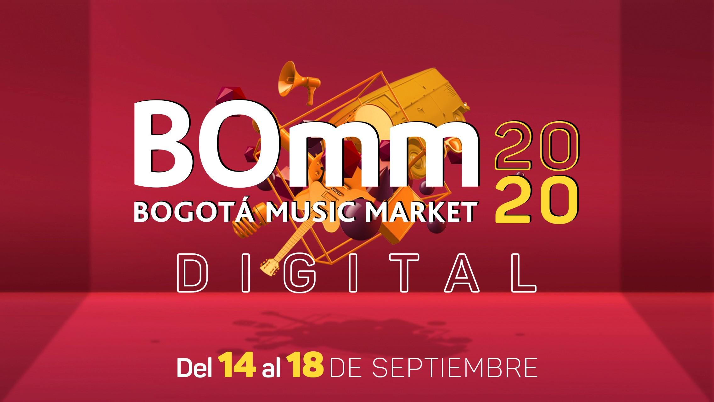Conoce los artistas y bandas seleccionadas para el Bogotá Music Market -  BOmm 2020 - BPM Earplugs